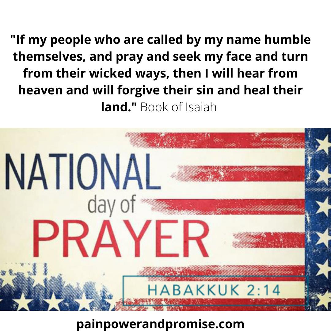 May 6, 2021 National Day of Prayer